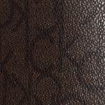 Handbags and Wallets: Brown/Brown/Dark Brown Calvin Klein Novelty Monogram Tote