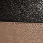 Calvin Klein Accessories: Dark/Taupe Combo Calvin Klein Novelty PVC Reversible Tote