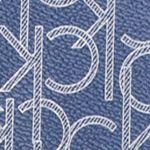 Calvin Klein Handbags: Navy/Glacier Calvin Klein Key Items Signature Monogram Crossbody