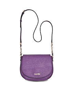 Calvin Klein Key Items Saffiano Saddle Bag
