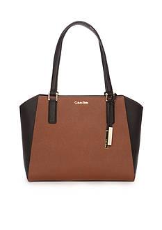Calvin Klein Key Items Saffiano Tote