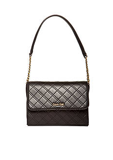 Calvin Klein Permanent Quilted Lamb Shoulder Bag