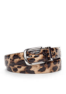 New Directions® Leopard Reversible Belt