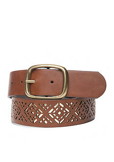 New Directions Gold-Tone Inlay Belt