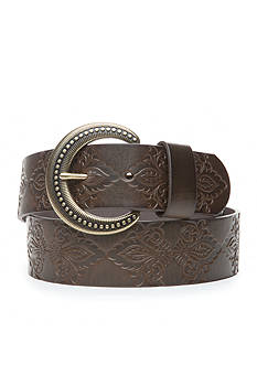 New Directions Tooled Casual Belt