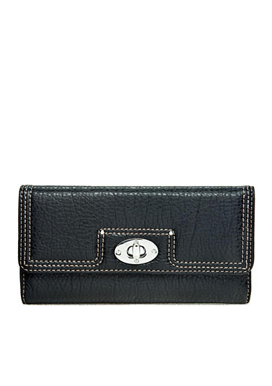 New Directions® Pebble Flap Wallet