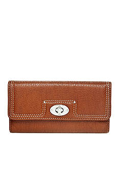 New Directions Pebble Flap Wallet