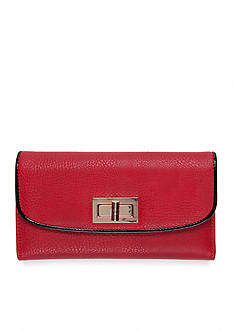 New Directions® Pebble Patent Checkbook Clutch