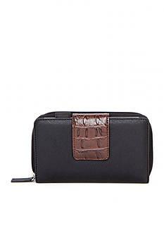 New Directions® Zip Around Hornback Wallet