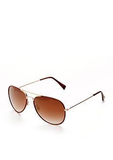 Vince Camuto Classic Aviator Sunglasses