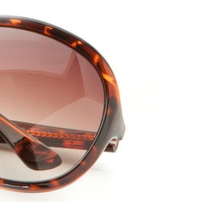 Handbags & Accessories: Vince Camuto Accessories: Tortoise Vince Camuto Oversized Plastic Glam Sunglasses