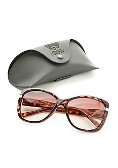 Vince Camuto Retro Square Plastic Sunglasses