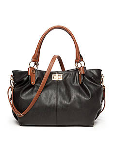 New Directions Tote with Contrast Handle
