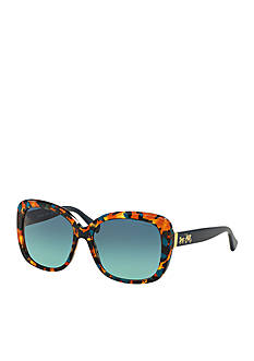 COACH Horse and Carriage Oversized Square Sunglasses