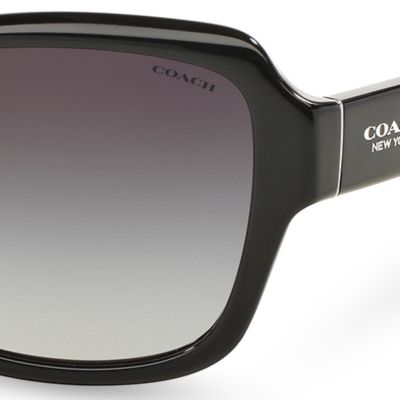 Handbags & Accessories: Coach Designer Sunglasses: Black COACH Core Legacy Sunglasses