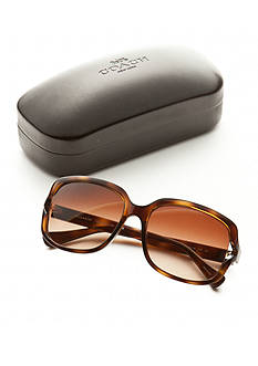 COACH Vented Square Sunglasses