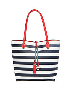 New Directions® Stripe Reversible Medium Tote