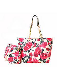 New Directions Reversible Tote with Chain