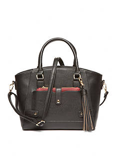 New Directions Fleur Satchel with Wallet