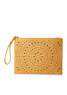New Directions Clutch with Perf And Grommets