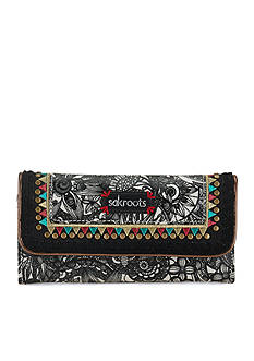 Sakroots Artist Circle Trifold Wallet