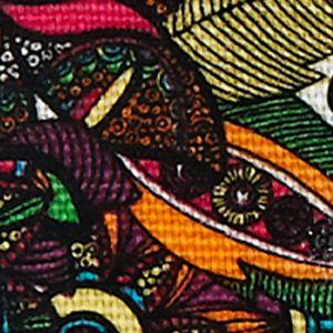 Sakroots: Rainbow Spirit Desert Sakroots Artist Circle XL Wallet