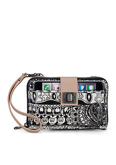 Sakroots Artist Circle Smartphone Crossbody Bag