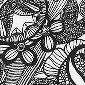 Sakroots: Black And White Spirit Desert Sakroots Artist Circle Lunch Bag