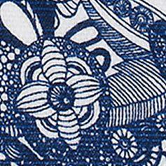 Sakroots: Navy Spirit Desert Sakroots Artist Circle Lunch Bag