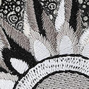 Sakroots: Black And White Spirit Desert Sakroots Artist Circle Smartphone Wristlet