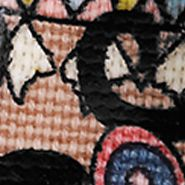 Sakroots: Taupe One World Sakroots Artist Circle Smartphone Wristlet