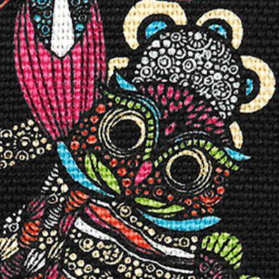 Handbags & Accessories: Sakroots Handbags & Wallets: Neon Spirit Desert Sakroots Artist Circle Zipper Journal