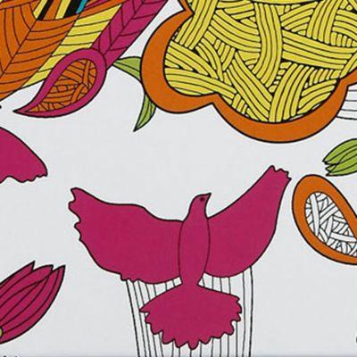 Handbags & Accessories: Sakroots Handbags & Wallets: Optic Peach Sakroots Artist Circle Yearly Agenda