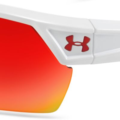 Designer Shades: Under Armour®: Shiny White Under Armour Igniter 2.0 Sunglasses
