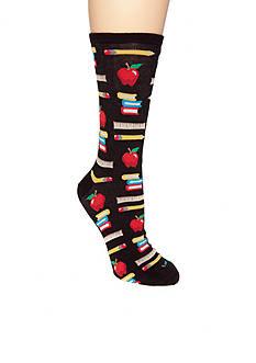 Hot Sox Teachers Pet Crew Sock
