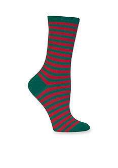 Hot Sox Thin Stripe Crew Socks
