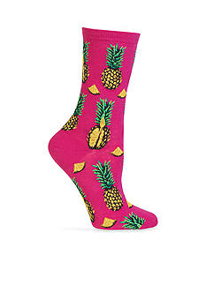 Hot Sox® Pineapples Socks