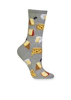 Hot Sox Cheese Socks - Single Pair