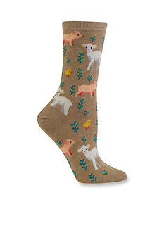 Hot Sox® Piglet, Lamb, and Chick Trouser Socks