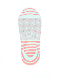Happy Socks® Stripe and Dot Liner Socks - Single Pair