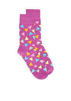 Happy Socks® Triangle Crew Socks - Single Pair