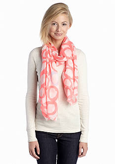Vince Camuto Circling Around Fringe Scarf