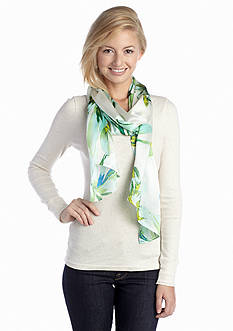 Vince Camuto Cascading Daffodils Scarf
