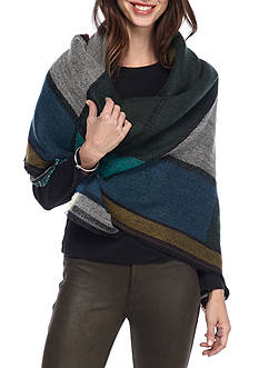 BCBGeneration Stained Glass Square Wrap