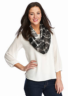 BCBGeneration Textured Infinity Scarf