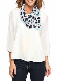 BCBGeneration 'Frenchie Kisses' Scarf