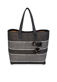 New Directions Shoulder Tote With Magnetic Snap