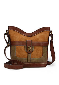 b.ø.c. Vandenburg Tulip Sueded Color Block Crossbody