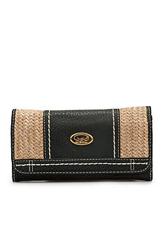 b.ø.c. Park Slope Straw Wallet