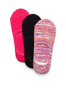 New Directions Boot Liner Non-Slip Socks - 3 Pack